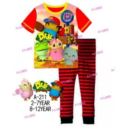 Didi&Friends Ailubee Pyjamas (A-211) 8-12y