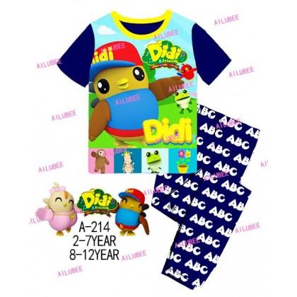 Didi&Friends Ailubee Pyjamas (A-214) 10y