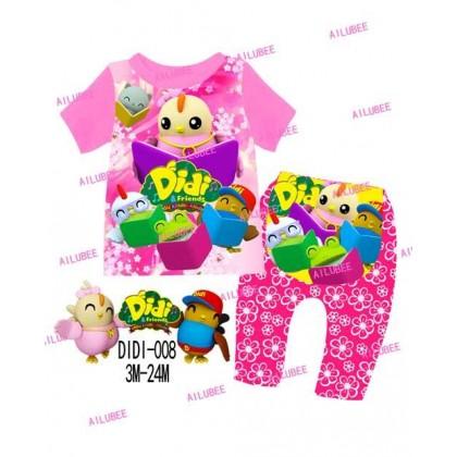 Didi&Friends Ailubee Pyjamas (DIDI 008) 3M-24M
