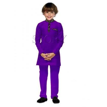 Songket Boy Set - Purple (Story) SIZE 8-12Y