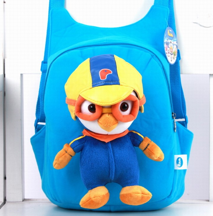 Cute Plush Toy Pororo Bag Backpack