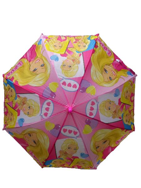 Kids Cartoon Umbrella Barbie