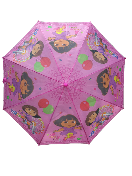 Kids Cartoon Umbrella Dora