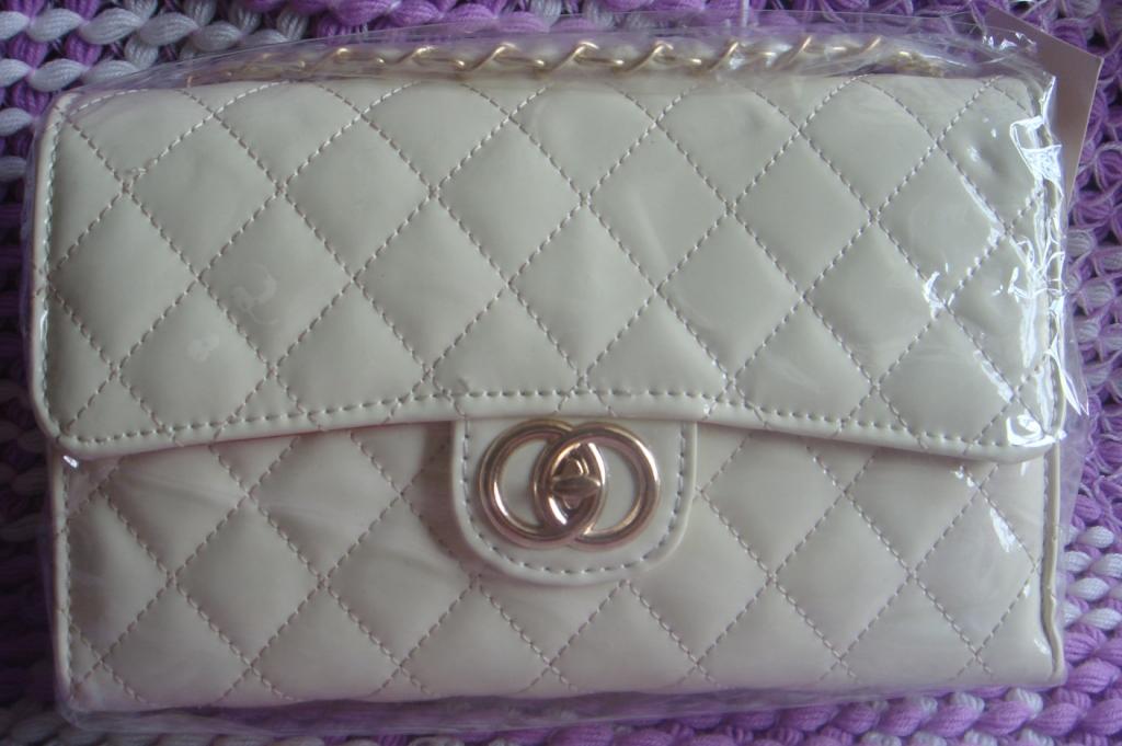 Korean Fashion Slingbag 011 (Milky White)