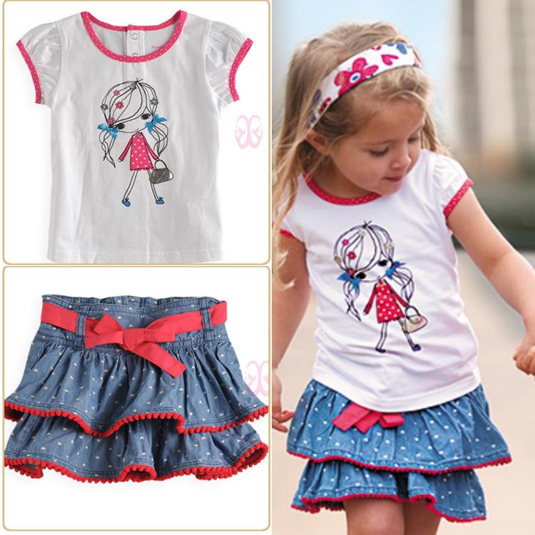 Girl set (skirt+Top) *factory defect